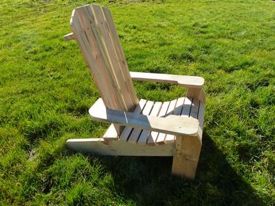 fauteuil d 39 exterieur bois autoclave id al pour votre. Black Bedroom Furniture Sets. Home Design Ideas